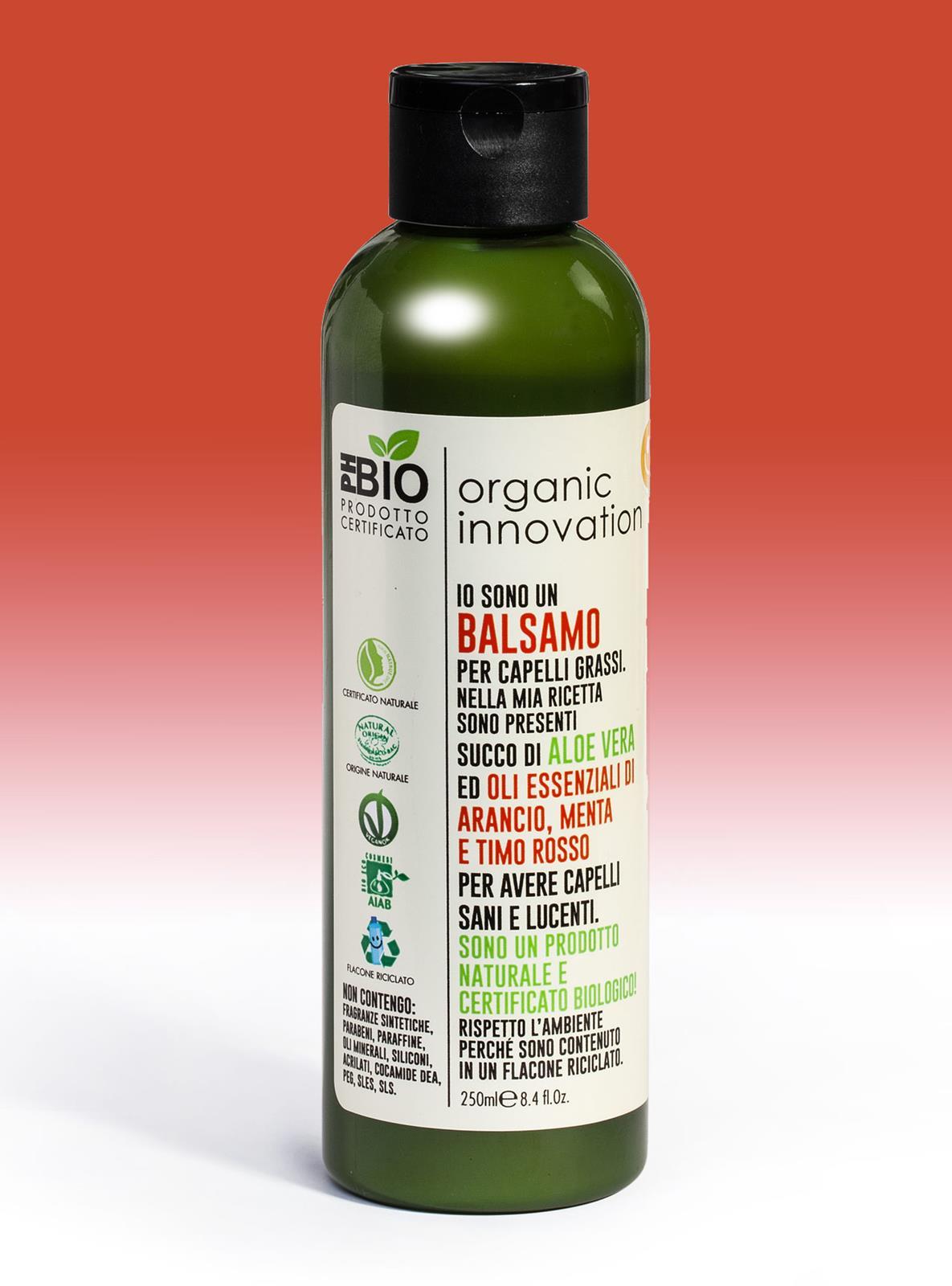Balsamo capelli grassi 250 ml